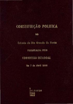 Natal : Typ. D´a Republica, 1892., 1892