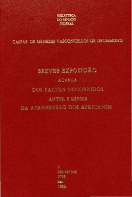 Recife : Typ. Universal, 1856., 1856