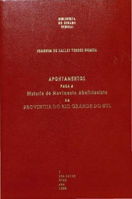 Porto Alegre: Typ. da Reforma, 1888., 1888