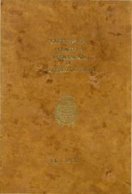 Dom João por Graça de Deos, e pela Constituição da Monarquia[..]