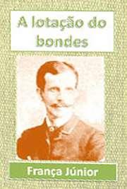 """""""A Lotação de Bondes"""": sucessão de tipos cômicos (camelô de loteria, namorados, mineiras extraviadas) à espera de um bonde no Hotel de Londres, no"""