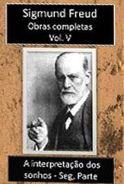 Obras Completas Vol. V. Sigismund Schlomo Freud (Príbor, 6 de maio de 1856 — Londres, 23 de setembro de 1939), mais conhecido como Sigmund Freud, formou-se em medicina e especializou-se em Neurologia, tendo logo a seguir criado a Psicanálise. Freud nasceu numa família judaica, em Freiberg in Mähren, na época pertencente ao Império Austríaco; atualmente a localidade é denominada Príbor, na República Tcheca.