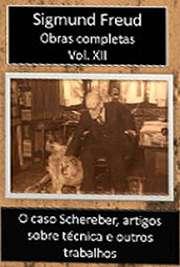 Obras Completas Vol. XII. Sigismund Schlomo Freud (Príbor, 6 de maio de 1856 — Londres, 23 de setembro de 1939), mais conhecido como Sigmund Freud, formou-se