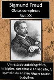Obras Completas Vol. XX. Sigismund Schlomo Freud (Príbor, 6 de maio de 1856 — Londres, 23 de setembro de 1939), mais conhecido como Sigmund Freud, formou-se