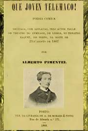 Poesia cómica. Coleção de Edições Originais 1868.  Recitada, com applauso, pelo actor  Valle do theatro do gymnasio, de lisboa, no theatro Baquet, do porto, na noite de 23 d´agosto de 1887.