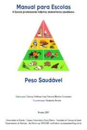 Manual do Peso Saudável para Escolas