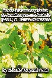 Estudo biofarmacognóstico de Acanthospermum australe (Loef ...