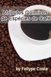 Atributos químicos de espécies de café