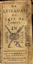 Os Lvsiadas, Em Lisboa, 1631