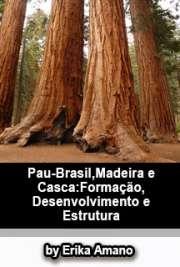 Pau-brasil, madeira e casca: formação desenvolvimento e es ...
