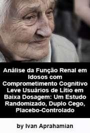 Análise da função renal em idosos com comprometimento cogn ...