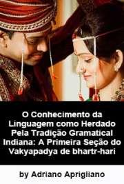 O conhecimento da linguagem como herdado pela tradição gra ...