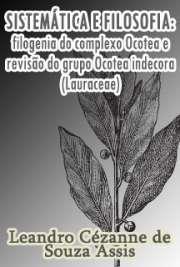 Sistemática e filosofia: filogenia do complexo Ocotea e re ...