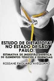 Estudo de dieta total no Estado de São Paulo: estimativa d ...