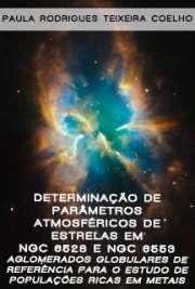 Determinação de parâmetros atmosféricos de estrelas em NGC ...