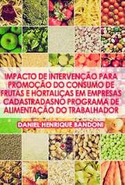 Impacto de intervenção para promoção do consumo de frutas  ...