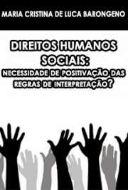 Direitos humanos sociais: necessidade de