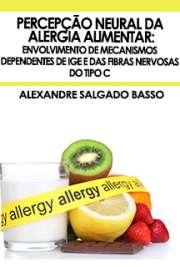Percepção neural da alergia alimentar: envolvimento de mec ...