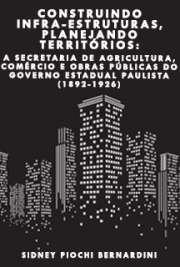 Construindo infra-estruturas, planejando territórios: a Se ...
