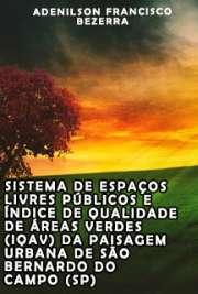 Sistema de espaços livres públicos e índice de qualidade d ...