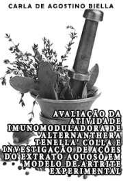 Avaliação da atividade imunomoduladora de Alternanthera te ...