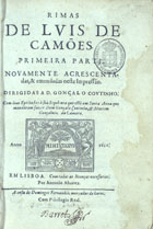 <font size=+0.1 >Rimas, Em Lisboa, 1621</font>