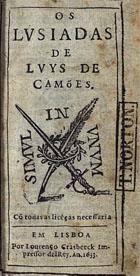 Os Lvsiadas, Em Lisboa, 1633