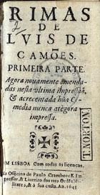 <font size=+0.1 >Rimas, Em Lisboa, 1645</font>