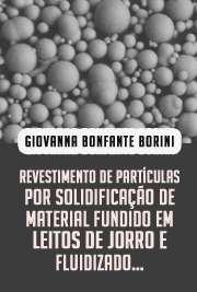 Revestimento de partículas por solidificação de material f ...