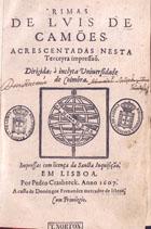 <font size=+0.1 >Rimas, Em Lisboa, 1607</font>