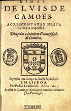 <font size=+0.1 >Rimas, Em Lisboa, 1607?</font>