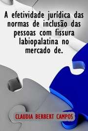 A efetividade jurídica das normas de inclusão das pessoas  ...