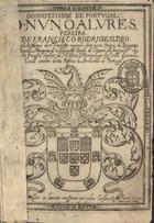 O Condestabre de Portugal D. Nuno Alvres, Pereira: ofereci ...