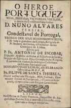 O heroe portuguez: vida, proezas, victorias, virtude e mor ...