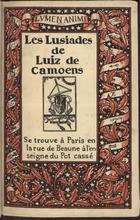 Les lusiades de Luiz de Camoens, Paris, 1931