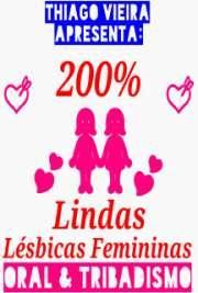 200% Lindas Lésbicas Femininas Oral & Tribadismo