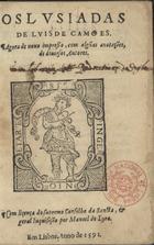 Os Lusiadas, Em Lisboa, 1591
