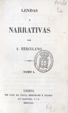 Lendas e narrativas, Lisboa, 1851