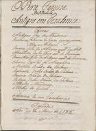 Opera famoza intitulada Antigno em Tezalonica, 1785 Mar. 20