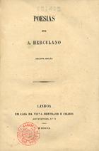 <font size=+0.1 >Poesias, Lisboa, 1860</font>