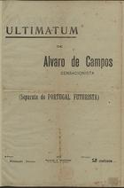 <font size=+0.1 >Ultimatum, Lisboa, 1917</font>