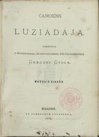 Lusiádája, Budapest, 1874