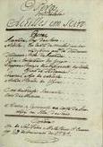 Opera intitulada Achilles em Sciro, 1784 Fev. 29