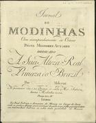 PORTUGAL,Marcos,1762-1830<br/>Moda : Perdoar con condições : com accompag.to de cravo, e 2 mandolinos / composta pello Signor Marcos Antonio. - [Reimpresso em 1794-1795]. - Lisboa : Francisco Domingos Milcent,[1793]. - Partitura (2 p.) ; 32 cm + 1 parte instrumental (bandolins). - (Jornal de modinhas ; Ano 2, N.º 4)
