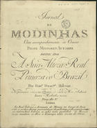 PORTUGAL,Marcos,1762-1830<br/>Duetto italiano / del Sig.r Marcos Antonio. - Lisboa : Fran.co Dom.gos Milcent,[1793]. - Partitura (3 p.) ; 32 cm. - (Jornal de modinhas ; Ano 2, N.º 8)