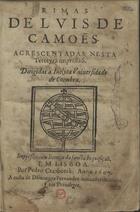 Rimas, Em Lisboa, 1607