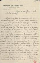 CARNEIRO,Mário de Sá,1890-1916<br/>Gentil amor / [Mário de Sá Carneiro]. - Paris,1913 fev. 10. - 7, 1 p. em 4 f. ; 21 x 13,5 cm