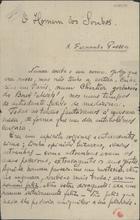 CARNEIRO,Mário de Sá,1890-1916<br/>O homem dos sonhos / Mario de Sá-Carneiro. - Paris,1913 mar.. - 22, 2 f. ; 21 x 13 cm
