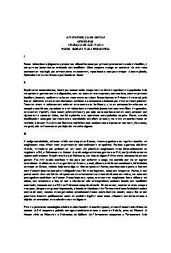 A Constituição de Atenas.