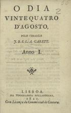 O dia vinte e quatro de Agosto, Lisboa, 1821